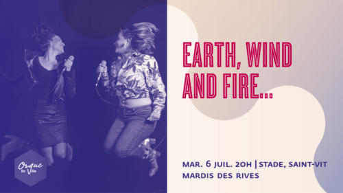EARTH, WIND AND FIRE...
