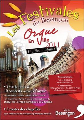 Orgue en Ville 2011