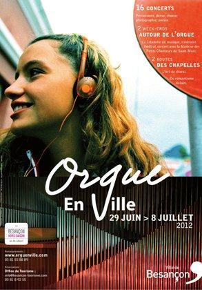Orgue en Ville 2012