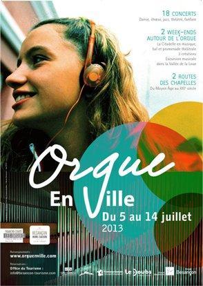 Orgue en Ville 2013