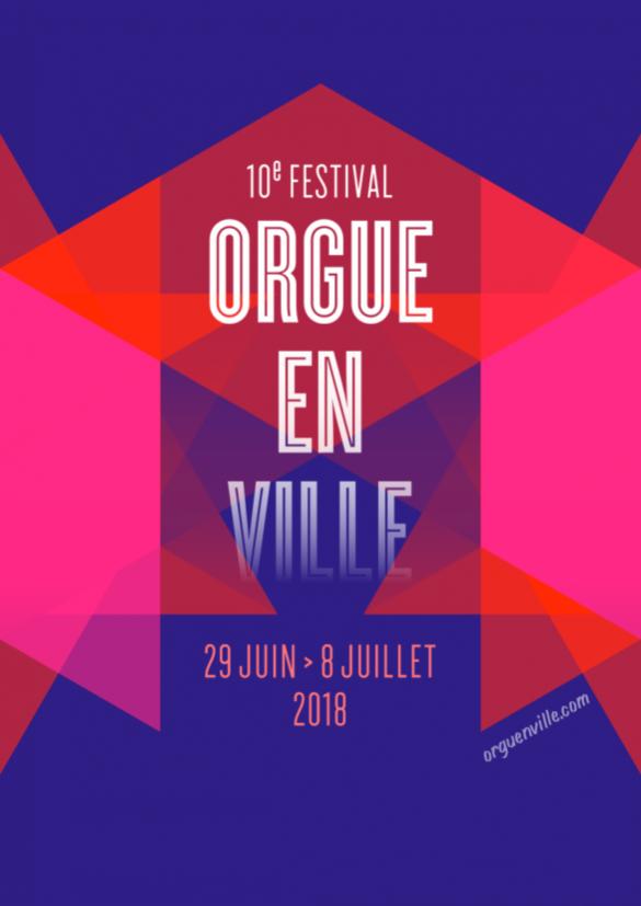 Orgue en Ville 2018