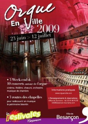 Orgue en Ville 2009